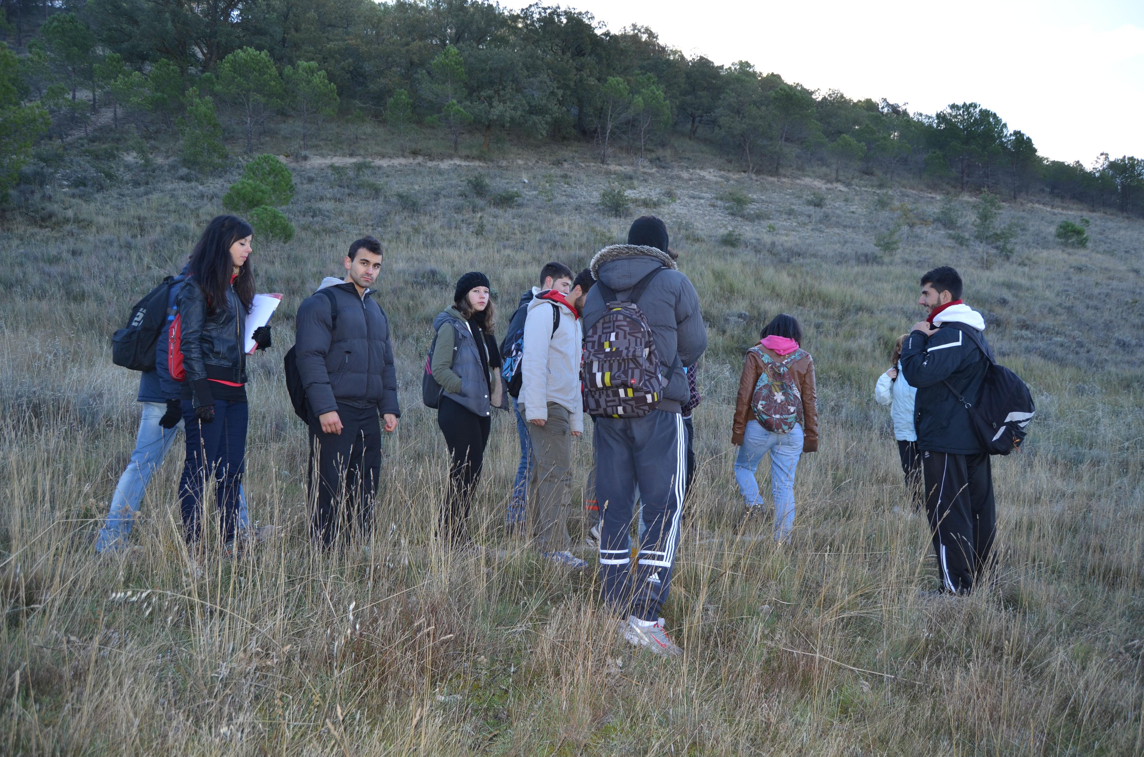 Viaje de prácticas de las asignaturas de Técnicas en Geografía y Evaluación Ambiental
