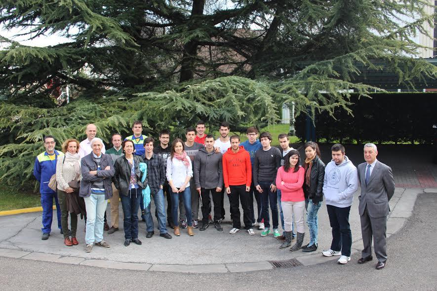 Visita a las instalaciones de Michelin en Valladolid