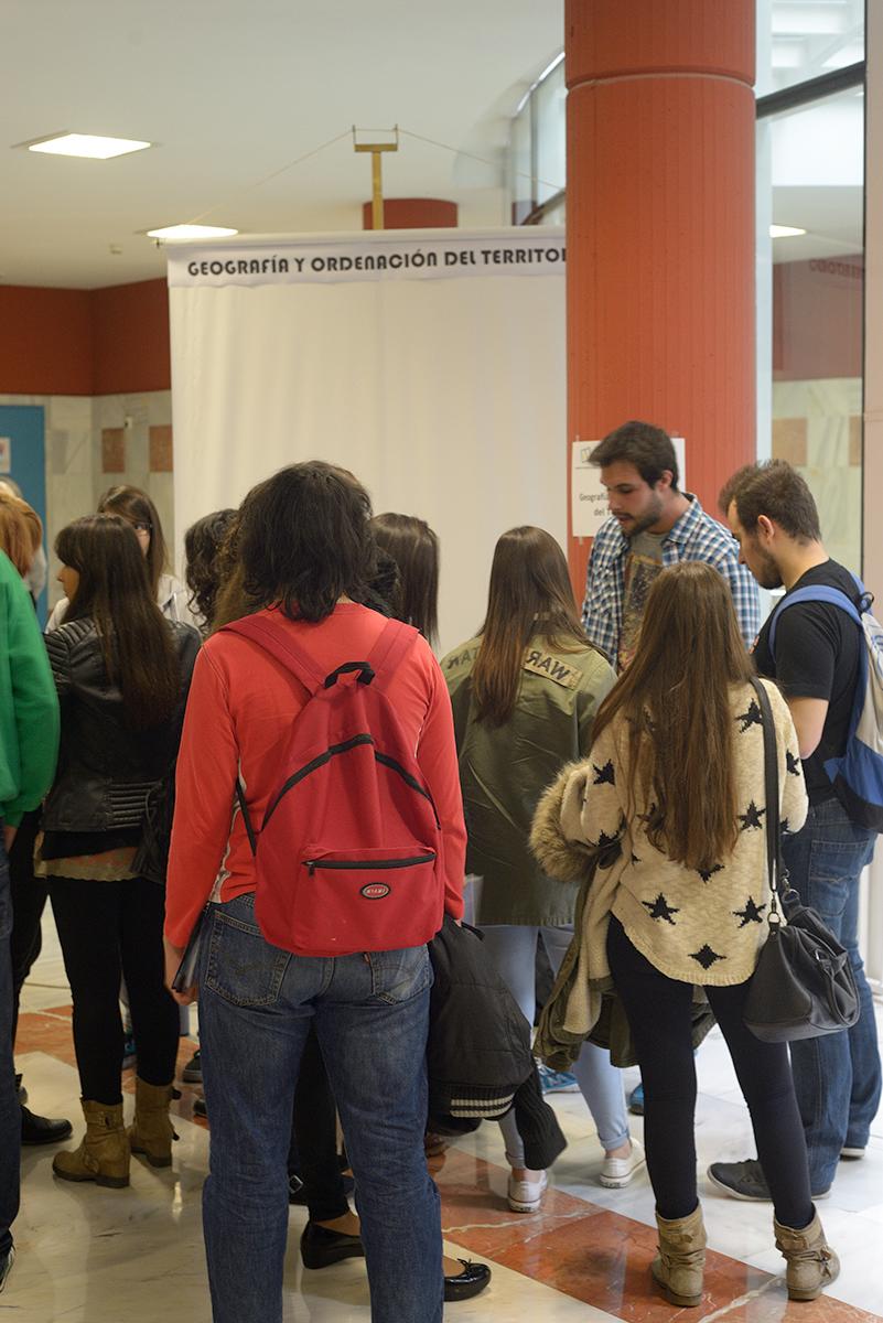 Jornada de puertas abiertas en la Facultad de Filosofía y Letras
