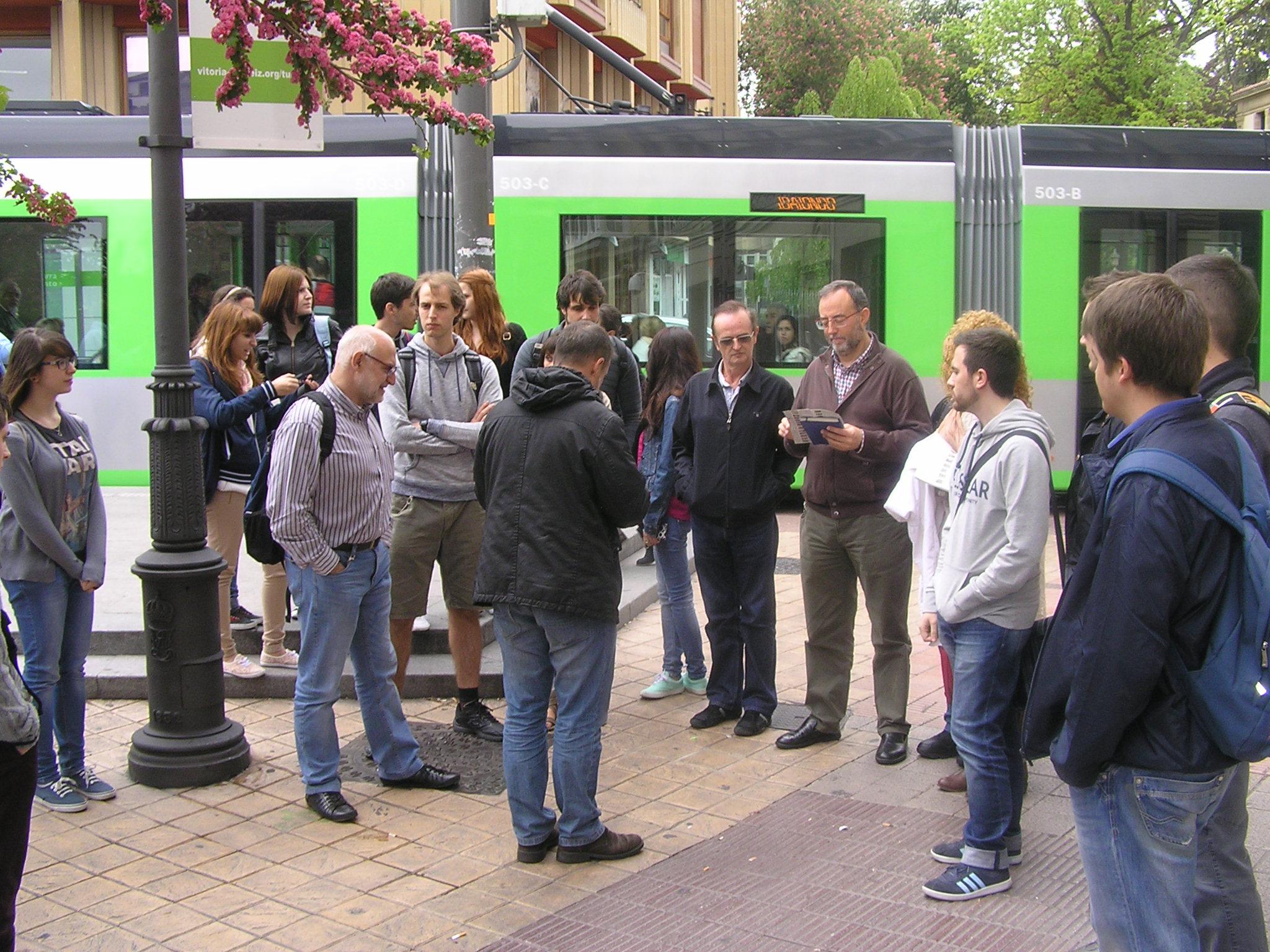 Visita a Vitoria-Gasteiz, European Green Capital 2012