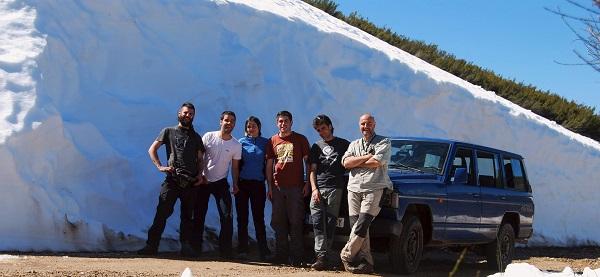 Segunda semana de trabajo de campo en el inventario del patrimonio geomorfológico de Villafranca del Bierzo