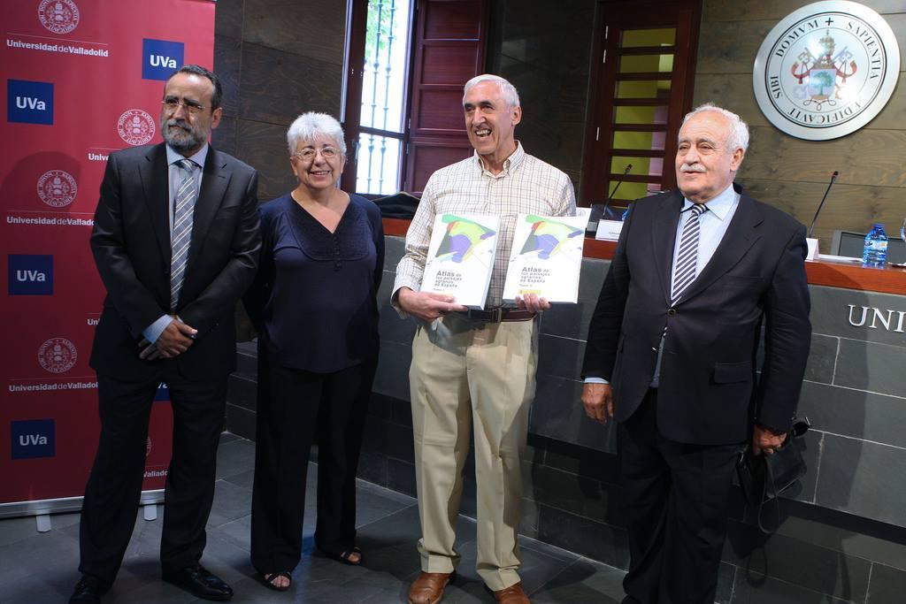Fernando Molinero presenta el Atlas de los Paisajes Agrarios de España