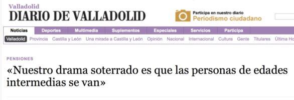 El Departamento de Geografía en la prensa: Castilla y León frente a sus problemas territoriales