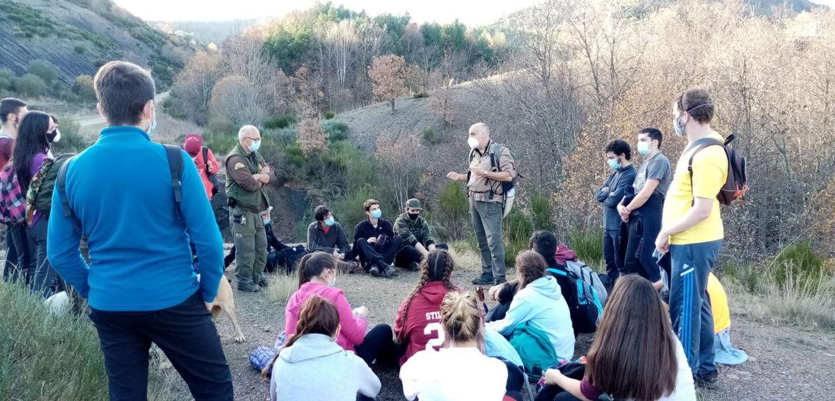 La mina de carbón de FAPAS: un aula al aire libre para los estudiantes del Grado